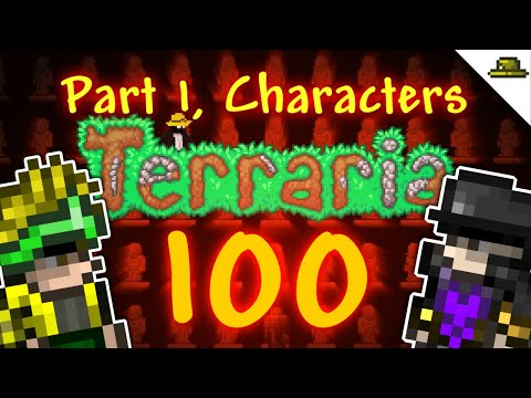 100 INCREDIBLE TERRARIA CUSTOM CHARACTERS | VANITY SETS AND HOW TO MAKE THEM! (PART 1, 1-50)