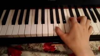 Разбор ПРАВОЙ РУКИ в красивой мелодии (по запросу)