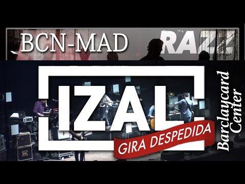 IZAL [Not FullSET] x19 Gira Despedida 2015 Barcelona-Madrid @ Razzmatazz-Barclaycard Center mp3
