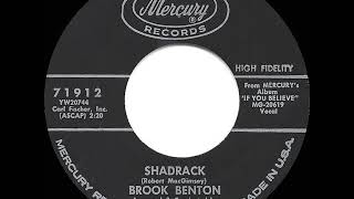 Gambar cover 1962 HITS ARCHIVE: Shadrack - Brook Benton