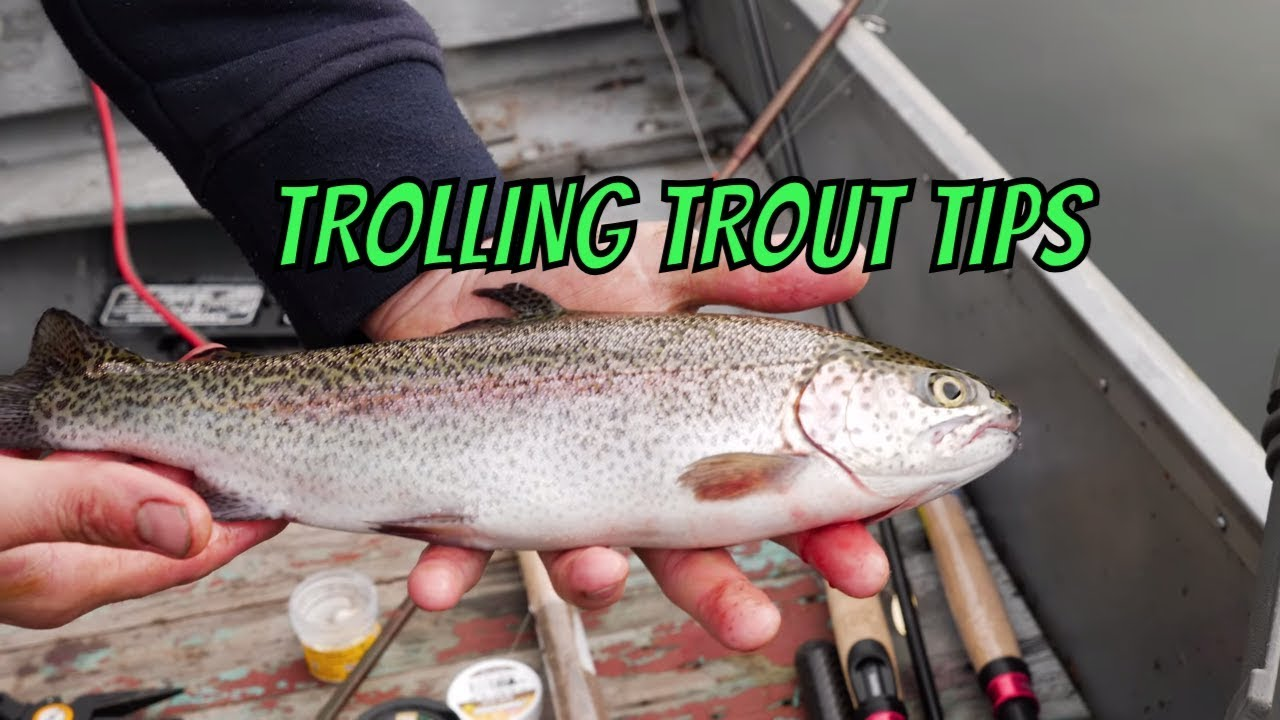 Trout Trolling Tips | How To Trolling For Trout In Lakes & Ponds