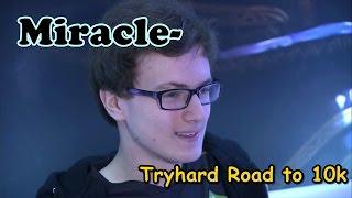 Dota 2 Miracle- Riki 9115 MMR Tryhard Road to 10k (Hurricane-)