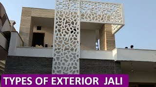Types of Exterior and Interior Jali (GFRC,GRC,WPC CNC DECORATIVE JALI)