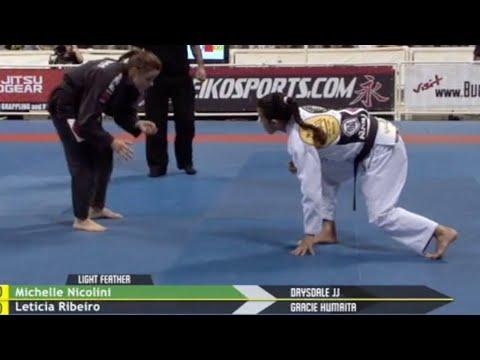 Leticia Ribeiro VS Michelle Nicolini / World Championship 2009