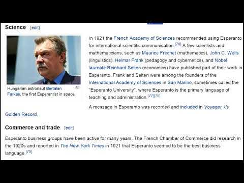 VideoMix 012 Esperanto Neutral International Language Wikipedia Education Bitcoin #BTC4 Hi