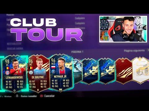 ASÍ HE ACABADO FIFA 21!! CLUB TOUR FINAL!!