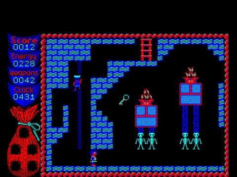 Camelot by Superior Software on the Acorn Electron