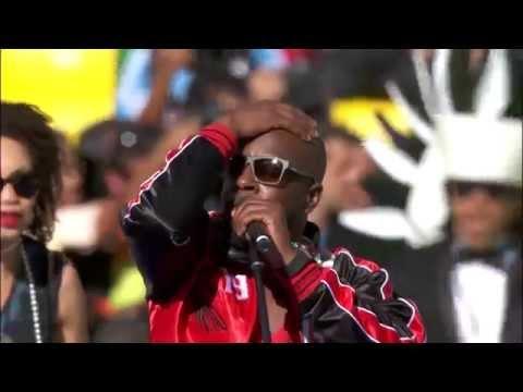 Closing Ceremony World Cup 2014 - Dar um Jeito (Wyclef, Santana, Alexandre Pires ft. Avicii)