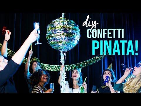 DIY New Years Eve Confetti Pinata - HGTV Handmade