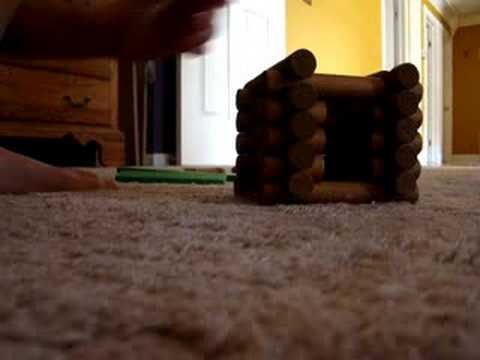 How To Make Lincoln Logs From Pool Noodles