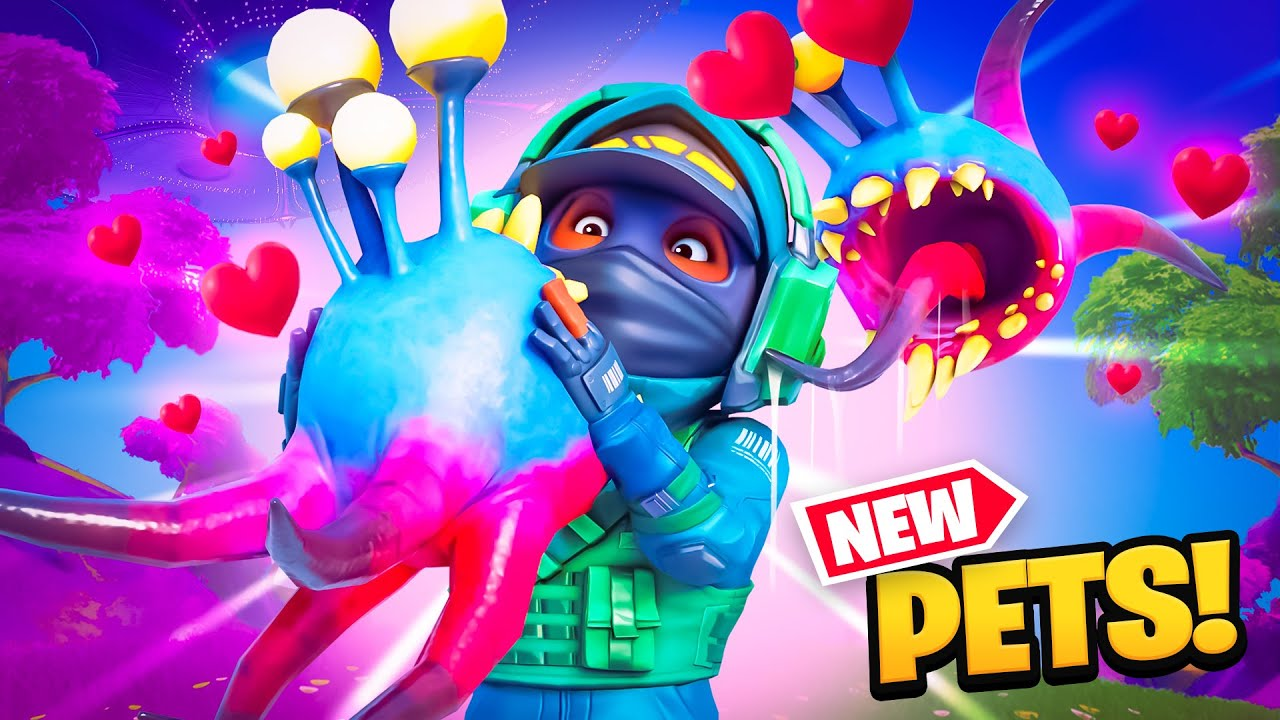 FORTNITE PETS ARE HERE!