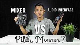 Download lagu ALAT INI BIKIN MIC JELEK JADI BAGUS ! MIXER VS AUDIO INTERFACE