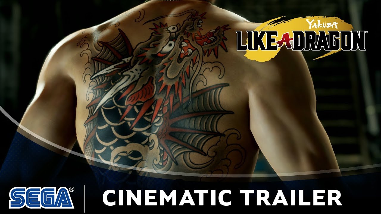 Yakuza: Like a Dragon | Cinematic Trailer