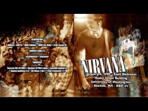 Nirvana - East Ballroom, University of Washington, Seattle,