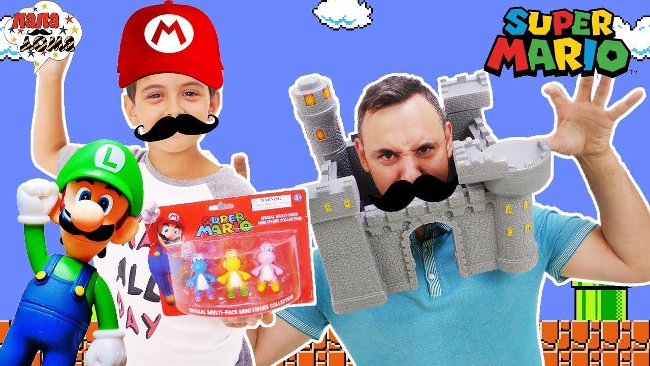ПАПА РОБ И ЯРИК играют в SUPER MARIO WORLD 13+
