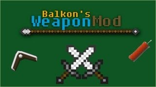 Minecraft Mod Review -  Balkon's Weapons