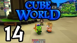 Cube World - E14 - Heroes Wanted! (1080p Gameplay / Playthrough)