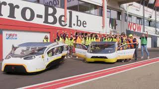 Finish and Podium Ceremony of 24 hours iLumen European Solar Challenge 2020