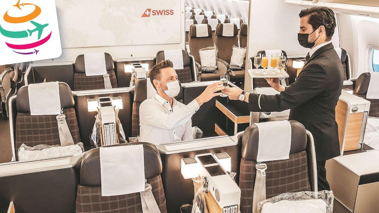 Trotz Krise rentabel! SWISS 777 Business Class   YourTravel.TV