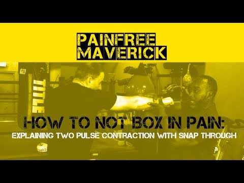 HOW TO NOT BOX IN PAIN  - Explaining TWO PULSE Contraction with SNAP through