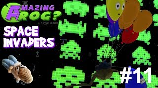 Amazing Frog? - Part 11 - Space Invaders