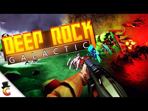 Killing Bugs and Gathering Gold! - Deep Rock Galactic Alpha Gameplay Part 1