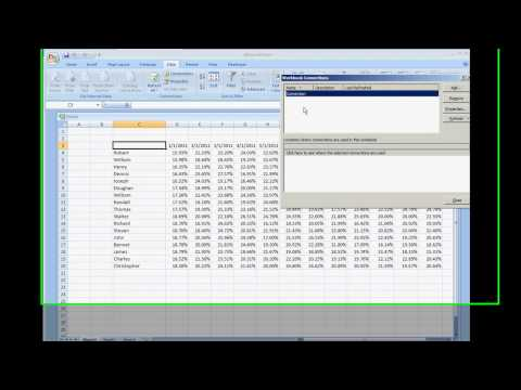 Query Data From A Web HTML File And Run Macro Microsoft Excel Tutorial