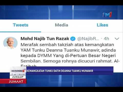 PM UCAP TAKZIAH ATAS KEMANGKATAN ADINDA TUANKU MUHRIZ [10 NOV 2017]