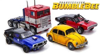 Transformers Movie Bumblebee Studio Series Optimus Prime Bumblebee Shatter Dropkick Car Robot Toys