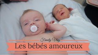 Les bebes amoureux - Vlog famille