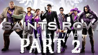 Saints Row: The Third Walkthrough Part 2: We're Going To Need Guns