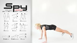 Spy Workout [ 1 SET ]