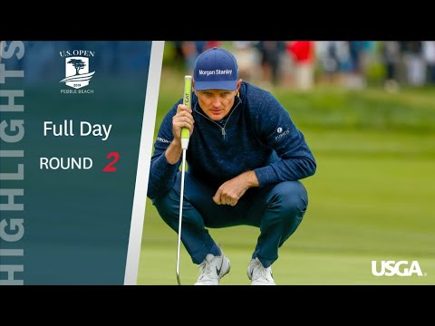 2019 U.S. Open, Round 2: Extended Highlights