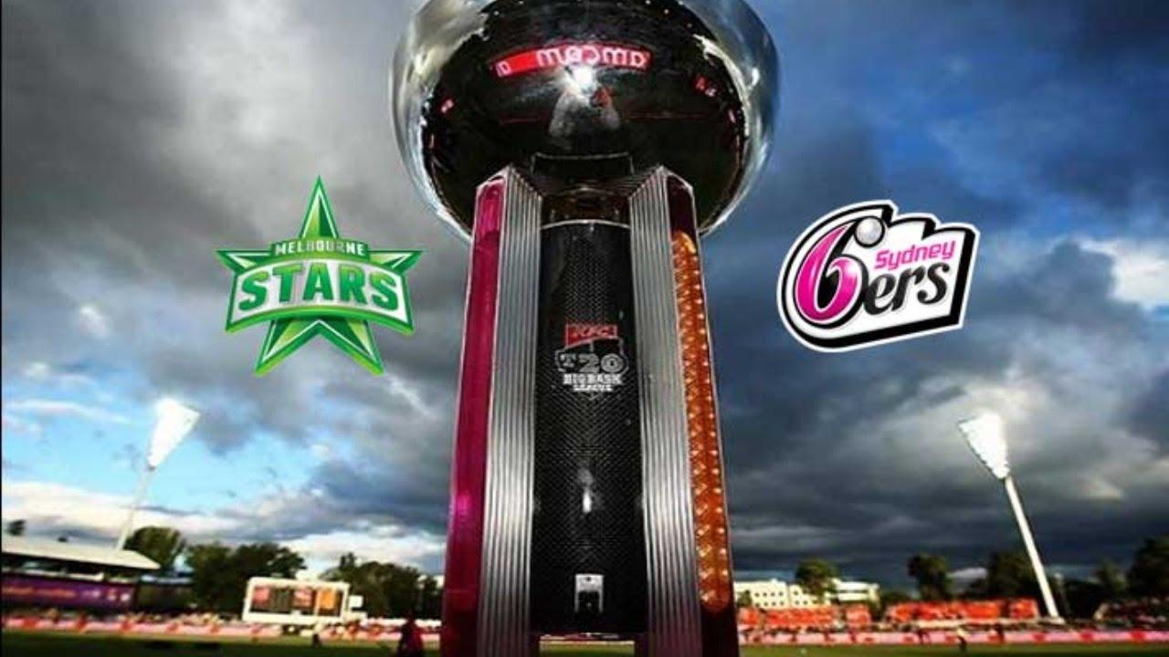 Sydney Sixers vs Melbourne Stars, Final - Live Cricket ...