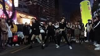 2018.11.11&걷고싶은거리&홍대&공차앞&게스트&여성댄스팀&Diana&by큰별