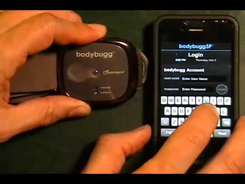 How to: Connect bodybugg to your iPhone
