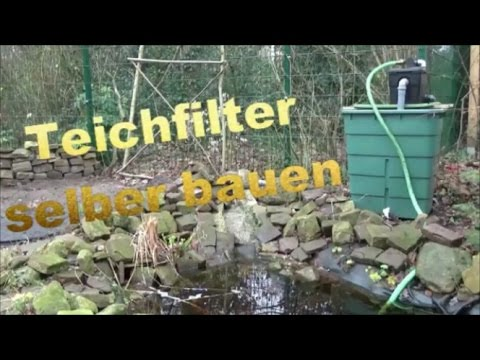 der garten freund tv teichfilter selber bauen youtube. Black Bedroom Furniture Sets. Home Design Ideas