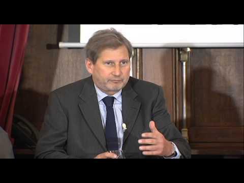 Innovative regions webcast: EU Commissioner Johannes Hahn, opening statement
