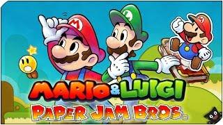 Una aventura bigotuda! | 01 | Mario & Luigi Paper Jam (Nintendo 3DS)