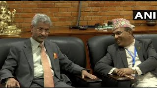 EAM Jaishankar arrives in Nepal for 5th Joint Commission Meeting
