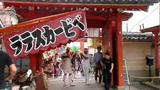 大阪の天王寺の愛染堂勝鬘院でを見ました.