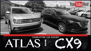 2018 VW ATLAS vs 2017 Mazda CX9 | In Depth Review - Includes Test Drives & Walkarounds