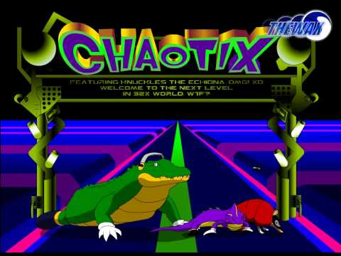 Knuckles Chaotix In Real Life
