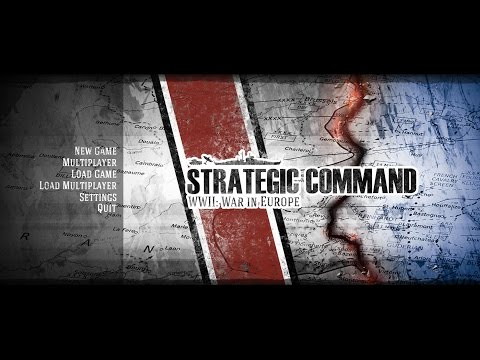 Strategic Command WWII  War in Europe Twitch Stream