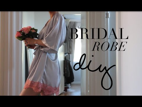 DIY Bridal Robe