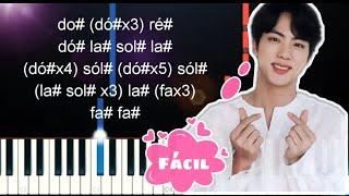 Baixar BTS - MOON / Piano (Tutorial 100% fácil)