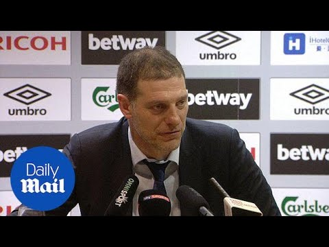 Bilic feels Spurs were lucky to escape with a narrow defeat - Daily Mail