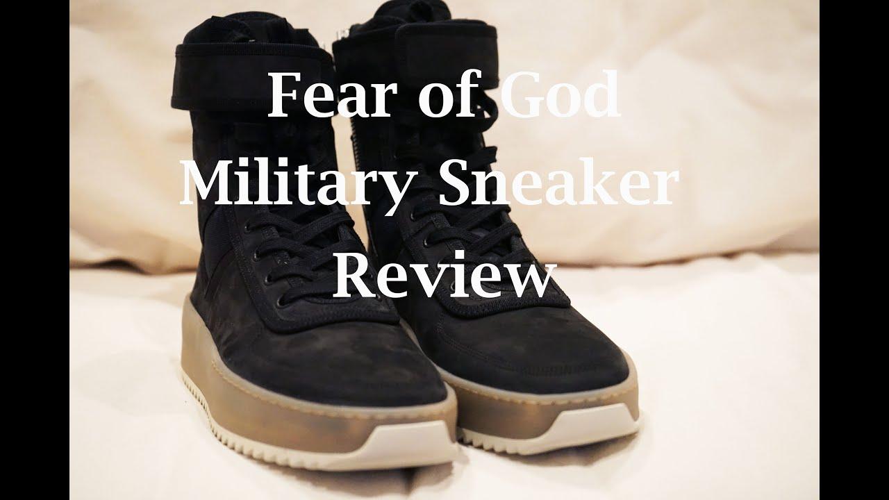 3eb83edcffe3 Fear of God Military Sneaker Review