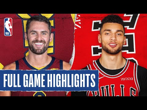 CAVALIERS At BULLS | FULL GAME HIGHLIGHTS | January 18, 2020