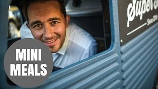 A madcap inventor builds the world s smallest BURGER VAN